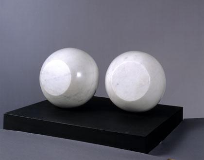 Two Spheres in Orbit