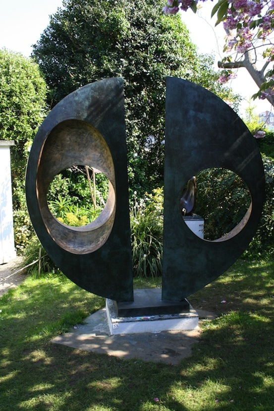 Two Forms (Divided Circle)